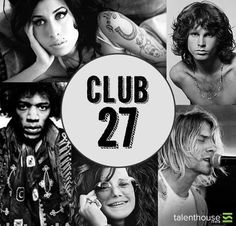 The club 27 snatched some of the biggest musicians from us. Who according to you was the biggest loss to the music world and why? Janis Joplin, Music Is Life, My Music, Amy Winehouse Music, Rock N Roll, Robert Johnson, Rock Legends, Foo Fighters, Jim Morrison