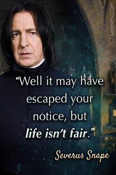 10 Severus Snape Quotes You Should Always Remember Severus Snape Quotes, Severus Snape Always, Snape And Hermione, Snape And Lily, Harry Potter Severus Snape, Severus Rogue, Harry Potter Facts, Harry Potter Quotes, Harry Potter Movies