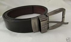 KENNETH COLE Belt Black Brown Reversible Mens 35 - 39 waist
