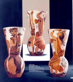 picasso and ceramics Pablo Picasso, Ceramic Vase, Ceramic Pottery, Picasso Images, Art Decor, Decoration, Cubist Movement, Black Vase, Historical Art