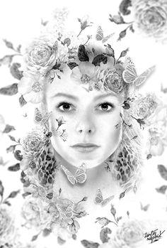 FANTASMAGORIK® BEAUTIFUL DARK LAURYNE … by obery nicolas, via Behance