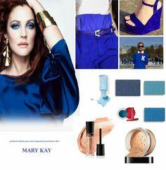 Los colores azules muy de moda