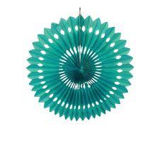 Rosace papier 30 cm Vert d'eau 1.2e Hand Fan, Deco, Rice Paper, Sea Green Colour, Backdrops, Weddings, Decor, Deko, Decorating