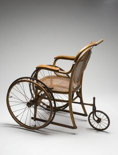 Wheelchair, Paris, France, 1890-1940>>> See it. Believe it. Do it. Watch thousands of spinal cord injury videos at SPINALpedia.com