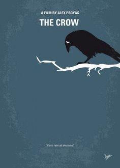 minimal minimalism minimalist movie poster chungkong film artwork design crow brandon lee