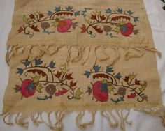 Old Hands, Turkish Fashion, Embroidery Applique, Textile Art, Diy And Crafts, Oriental, Ottoman, Cross Stitch, Textiles