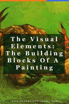 The visual elements of art are the building blocks of an artwork and the principles of art are the framework for how you arrange these elements. In this post I will teach you what the visual elements are so you can learn to see like an artist. Simple Oil Painting, Oil Painting Tips, Oil Painting For Beginners, Oil Painting Techniques, Acrylic Painting Lessons, Oil Painting Abstract, Art Techniques, Painting & Drawing, Painting Canvas