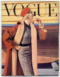 Vogue Paris 1955 August Norman Parkinson photo