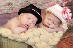Baby hat Fedora Hat  cowboy hat Size newborn by BitofWhimsyCrochet