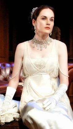Michelle Dockery as Lady Mary in Downton Abbey.