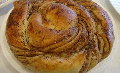 Greek Sweets, Tahini, Bagel, Sweet Recipes, French Toast, Cooking Recipes, Bread, Breakfast, Food