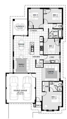 Vancouver 4 Bedroom Single Storey House Plan Porter