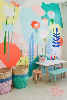 Photo by Vellum Studios for  Tiny Tribe Magazine   A bright, cheerful space for the little ones. Love all the colors in this space by Aus...