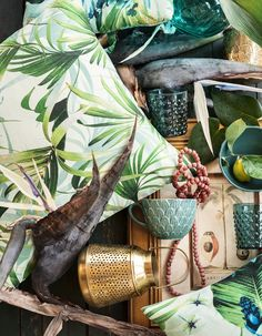 H&M Home, summer collection, 2017, homewares, home textiles. botanical, summer vibes, H&M Home collection 2017, new collection