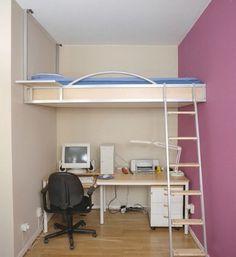 Кровать к потолку