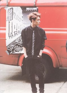 EXO Lay looking so hot in 'DIE JUNGS' photobook i just dont get it anymore #yixing