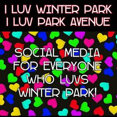 If you LUV Winter Park . . . LUV Park Avenue . . . join me here on Pinterest,  on Instagram, on Facebook,  on Twitter, on Swarm, on Tumblr! #Iluvwinterpark #iluvparkavenue #iluvcentralpark #LoveFL #winterpark #WinterParkFL #WinterParkFlorida