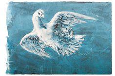 Hans Erni - Pigeon