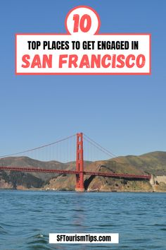 Are you planning to get engaged in San Francisco? Discover my list of 10 of the perfect spots to pop the question. They include the gorgeous Golden Gate Bridge, the lovely Palace of Fine Arts, and a few others. Golden Gate Park, Golden Gate Bridge, Stow Lake, Palace Of Fine Arts, Waterfront Restaurant, San Francisco Travel, Top Place, Boat Rental, Great Restaurants