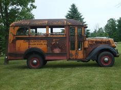 Old School Bus was once abandoned but has now been found
