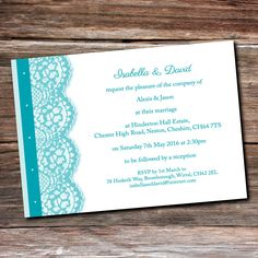 Invitation Postcard | Pink Sherbet Wedding Stationery