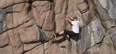 Learn the various types of foot techniques for bouldering and rock climbing. #climbingskills #boulderingtips https://www.survivalfitnessplan.com/foot-techniques-bouldering-rock-climbing/