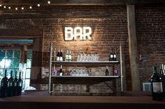 Excellent bar set up!