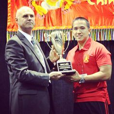 This award belongs to all the coaches, students, and parents of The Shaolin Academy. The team comes before the individual.