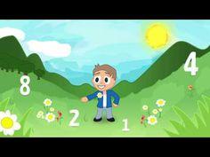 Zahlenparty - Kinderlieder deutsch zum Mitsingen von abclieder - YouTube