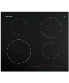 Fisher & Paykel CI604DTB1 - 600W x 530D x 50H Touch Control Induction Cooktop - 80617