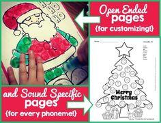 Christmas Dot Art {ALL sound and no PREP!}