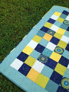 see mary quilt: Squared Circles!