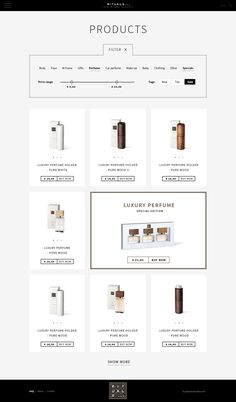 Product Filter #webdesign #website #inspiration