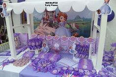 Sofia the First Birthday Party Ideas | Photo 2 of 26 | Catch My Party