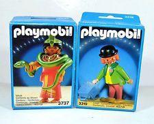 VINTAGE PLAYMOBIL SNAKE DANCER & CLOWN LOT 3737 3319 MISB GEOBRA 1987 - 1992