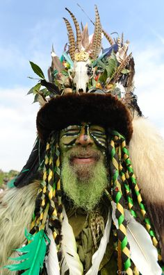 Jack in the Green ritual celebrations, Hastings, 2014 by Kerry Davies