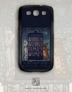 Samsung Galaxy S3 case Doctor Who TARDIS Nouveau - Bethy you need this for your phone!