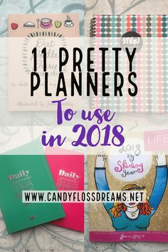 My Guide to 11 Perfect Planners for 2018, including My Shining Year Workbook, Stick to Stigu, Daily Greatness planner and much more