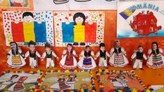 1 Decembrie, Activities For Kids, Crafts For Kids, Moldova, Cartoon Kids, Classroom Decor, Preschool, Kids Rugs, Popular