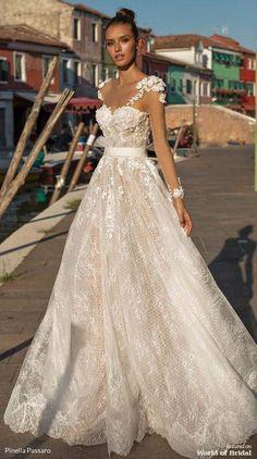 fea1d7f92fb7 Pinella Passaro 2019 Wedding Dress #wedding #weddingtips #weddingideas  #weddingadvice #weddingplanning #