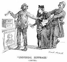 Matchless universal adult suffrage are