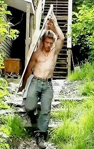 Yeah, I'm checking out Matt's crotch. So what! Lol