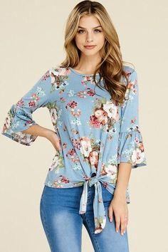 Floral Fever Top - spring tops, spring fashion