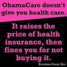 ObamaCare: You people who voted for this idiot & his IRS/Obama/NoCare B.S. DESERVE IT! We knew it wouldn't work & didn't want it, we shouldn't have to suffer for your stupidity.