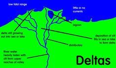 Formation of Delta