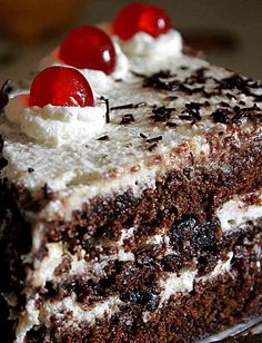 Ricetta Torta Foresta Nera | La vera ricetta tedesca