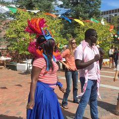Fiesta in MLK Plaza for Hispanic Heritage!