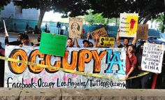 Occupy Wall Street - Los Angeles, CA