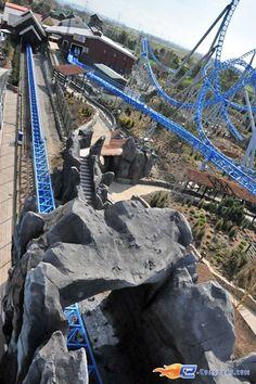 Scream is a bolliger mabillard floorless coaster at the Roller adresse