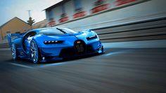 Bugatti Vision Gran Turismo Show car -  Eigens für die 66. Internationale Automobil-Ausstellung (IAA) hat Bugatti seinen Bugatti Vision Gran Turismo aus der virtuellen Bytes- und Pixel-Welt in einen realen Boliden aus Carbon verwandelt.